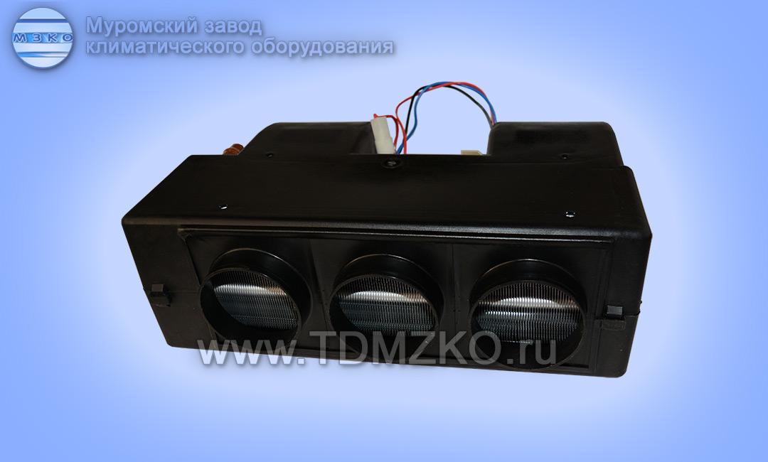 отопитель ОС-7-У2-12(24) с воздуховодами диаметром 75 (55)мм